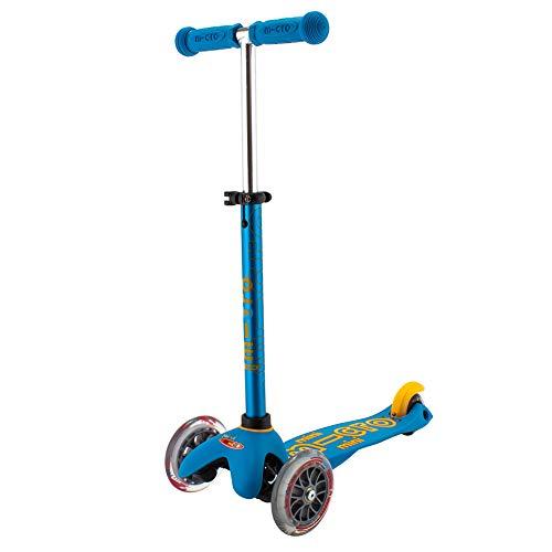 Micro Mobility MMD046 Mini micro Deluxe - Patinete, Color Azul