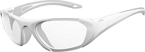 bollé Sonnenbrille Baller, Sonnenbrille Unisex-Adulto, Unisex - Erwachsene, 12006, Weiß/Grau, 59