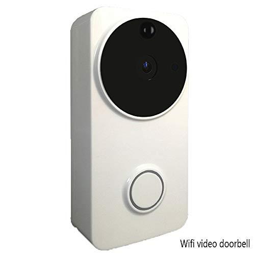 Intelligente Türklingel, WLAN-visuelle drahtlose Stimme Intercom Türklingel, Handy-Fernüberwachung Mobile Erkennung Funktion 8 Monate Standby -