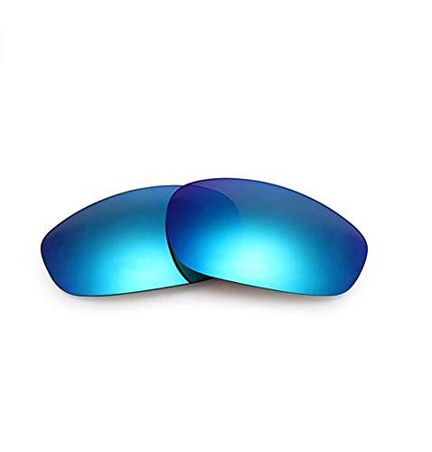Polarisierte Ersatzgläser für Oakley OO9099 Split Jacket (Blue)