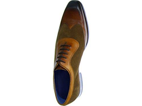 Hamilton Hombres Braun Vestir Mittel Melvin Los Rico 8 Zapatos Crw77yht Cordones De Con gTq0Yx