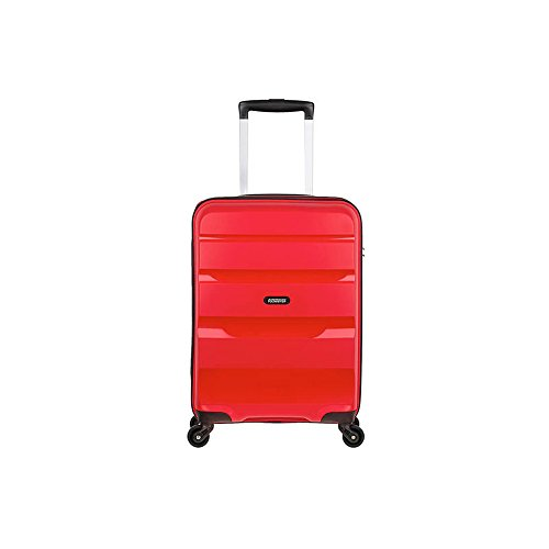 American Tourister Bon Air - Spinner, 55 cm, 31.5 liters, Bagage Cabine, Rouge (Magma Red)