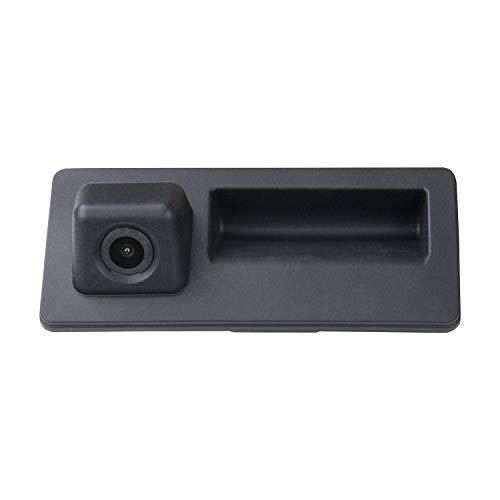 Wasserdicht Rückfahrkamera Griffleiste Einparkhilfe Hilfslinien Heckklappe Taster für VW Jetta SE/Jetta MK6 TIGUAN Touareg Passat B5/B6/B7 3C B7 Sharan Touran Golf 6 Plus RCD510 RNS315 RNS310 RNS510