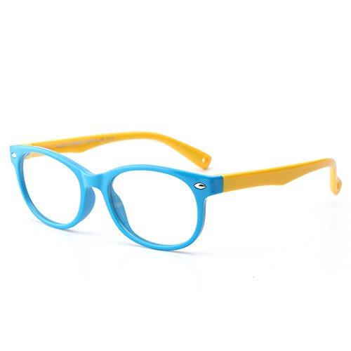 Forepin Forepin Kinder Brille Partybrille reg; Ohne Stärke Gläser Klassisch Nerdbrille Design mit Anti-verloren Gürtel für Jungen und Mädchen