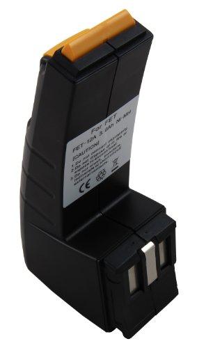Mitsuru® 3000mAh Ni-MH 12V Akku Batterie für Festool Festo BPH12 BPH-12 BPH-12-C C12 C-12 FS-1224 BP-CDD-12 CDD12 CDD-12-FX CENCC45Plus C12 C-12-DUO CDD-12 CDD-12-E C-12-GG CCD-12-ESC
