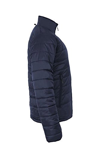 Promodoro Mens Padded Jacket C+ Aqua Marineblau