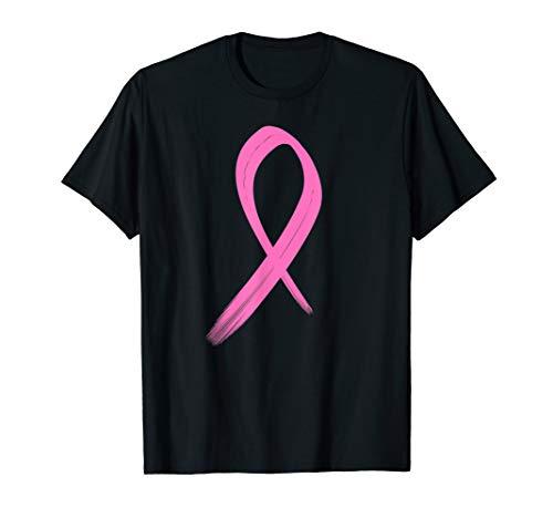BRUSTKREBS mit PINK Schleife  T-Shirt -