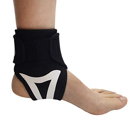 JIMITO Fußbandage Sprunggelenkbandage FußgelenkBandage Dient zum Schutz des Knöchels, zur Vermeidung von Verstauchungen, zur Linderung von Knöchelschmerzen und zum Sichern des Knöchels