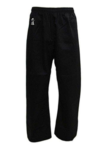 Budoten Karate-Hose schwarz 170