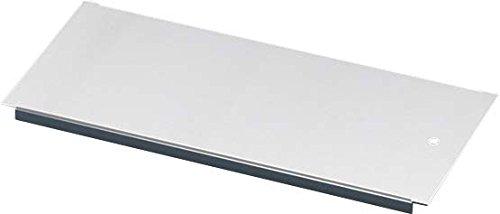 Preisvergleich Produktbild Rittal 5001.214Rack Plate Rack Accessory–Rack Zubehör (Rack Plate, White, Steel, TS IT, TS, CM, TP, 100mm, 820g)