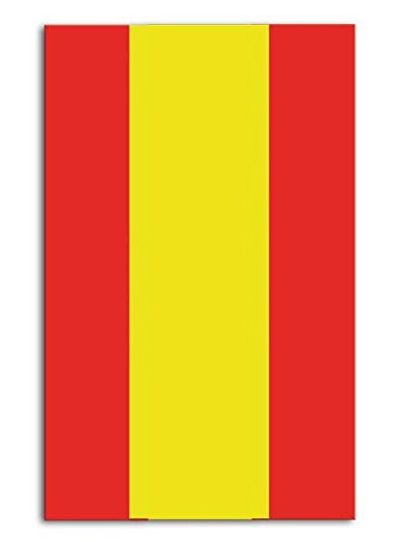 Preisvergleich Produktbild Tischdecke * SPANIEN * in 120cm x 180cm // Deko Spain Party Geburtstag Stripes Motto Mottoparty Länderparty Länderdeko