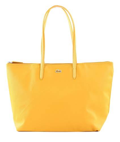 Lacoste - L.12.12 Concept, Shoppers y bolsos de hombro Mujer, Amarillo (Inca Gold), 14.5x30x34.5 cm...