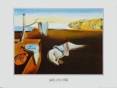 Salvador Dali - Persistence of Memory (Hartnäckige Erinnerung) - 80.0 x 60.0cm - Premiumqualität - , Surrealismus, Klassische Moderne, Fantasie, Wohnzimmer, Treppenhaus - MADE IN GERMANY - ART-GALERIE-SHOPde ()