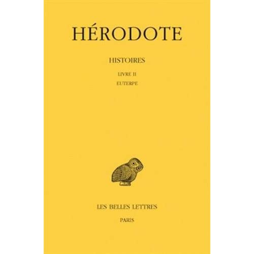 Histoires, tome 2. Euterpe, livre 2