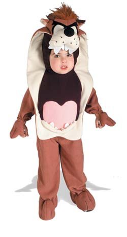 Rubies 50980 costume taz 1/2 3/4 deluxe pile