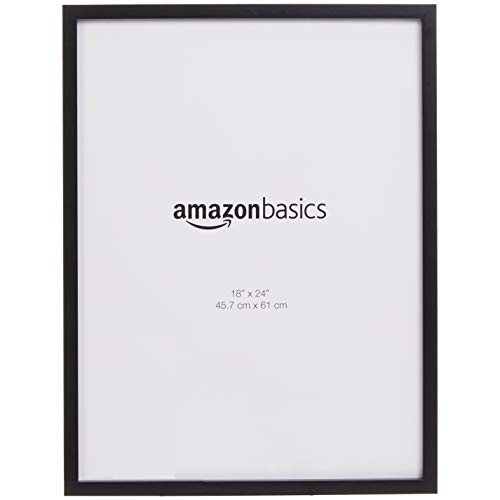AmazonBasics Cadre photo Noir Lot de 2 45,7 x 61 cm