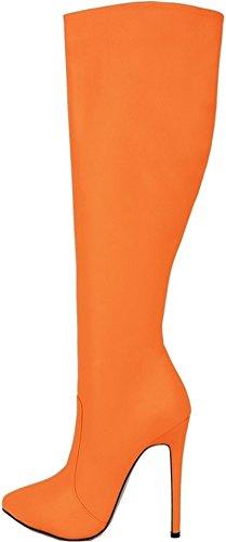 CFP , Chaussons montants femme Orange