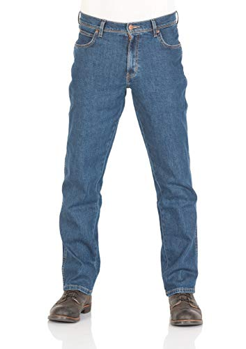Wrangler Herren Jeans Durable - Regular Fit - Darkstone und Black, Größe:W 40 L 32, Farbe:Darkstone (M36)