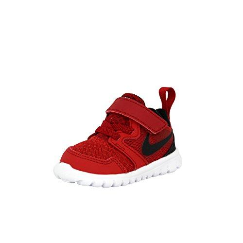 Nike 653703 400 Flex Experience 3 Btv Unisex - Kinder Sportschuhe - Fitness Rot / Schwarz / Weiß (Gym Rot / Schwarz-Weiß)