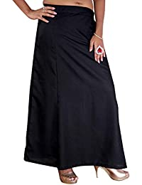 S.K. Textiles Lizzy Bizzy Petticoat BLACK XL (Suitable for 46-50 inches Waist Size)