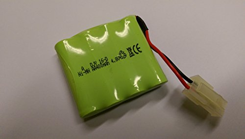 HUANGQI RC Radio Management Infrared Tanks Spare Substitute Ni-MH 400mAh four.8v Battery Pack