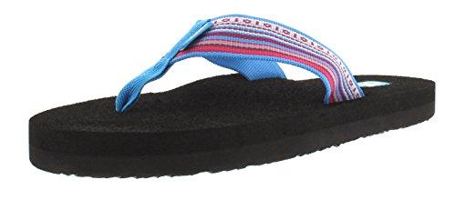 Teva Mush 2 W's, Sandales de sport femme Bleu - Blau (La Manta Multi Blue 855)
