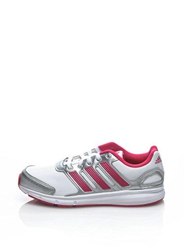 adidas Lk Sport K, Chaussures de running fille Blanc (Blaess/Rosecl/Argmet)