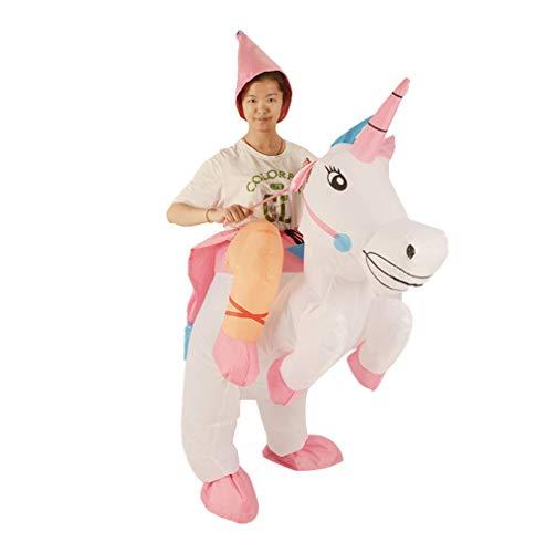 Einhorn Tianma Reiten Von Aufblasbaren Kleidung Für Kinder, Lustige Requisiten, Geeignet Für Maskerade, Bühnenperformance, Kostümparty (Beste Geschenk)