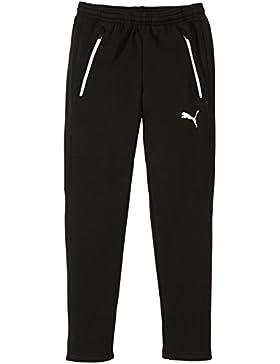 Puma Pantalón deportivo para niño negro blanco/negro Talla:12 años (152 cm)