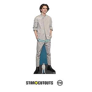 Star Cutouts Ltd- Star Cutouts CS827 Timothee Hal Chalamet - Cartón de tamaño real (179 cm, ancho 58 cm), Multicolor