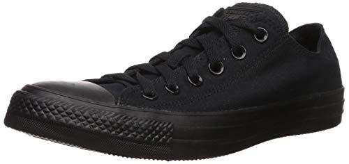Converse Chuck Taylor All Star, Unisex - Erwachsene Sneaker, Schwarz (Black Mono), Gr.41 EU - Converse High-top Schwarz