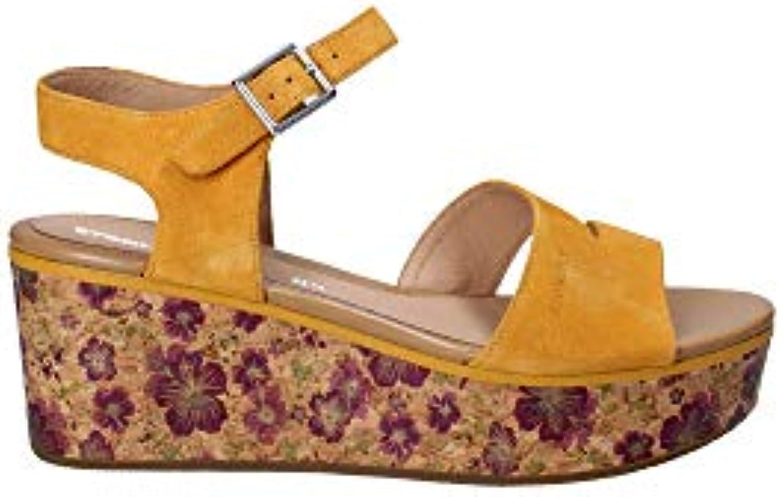 7baee323c7a7 Stonefly Stonefly Stonefly 110283 Wedge Sandals Women Yellow 40 B07G7K8625  Parent 27e68f