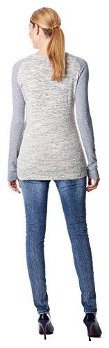 Esprit Maternity Vêtements de grossesse T-shirt manches longues Grey melange