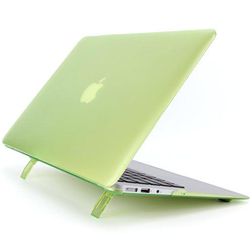 MacBook Pro 13 H¨¹lle 2017 & 2016 Freisetzung A1706/A1708, Plastik Hartschale Schutzh¨¹lle Snap Case mit faltbarem Kickstand f¨¹r Neueste MacBook Pro 13 Zoll, Gr¨¹n (Neueste Mac Pro)