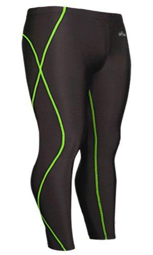 emFraa Men's Skin Tights Compression Base layer Leggings Pants