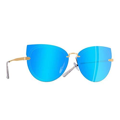 TIANZly Original Design Damen Sonnenbrillen Polarisierte Classic Cat Eye Sonnenbrille Female Metal Glasses - Sonne Original Speicher