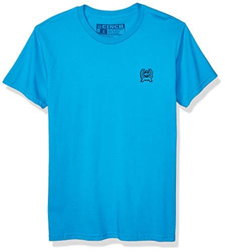 Cinch Herren Cotton Jersey Crew Neck Tee with Front and Back Screen Print T-Shirt, Caneel Bay Tshirt, XX-Large - Bay Herren Shirt