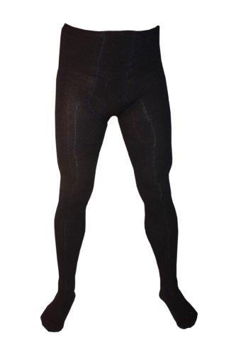 Weri Spezials Herrenstrumpfhose mit Eingrif Glatt in Marine Gr. 50-52