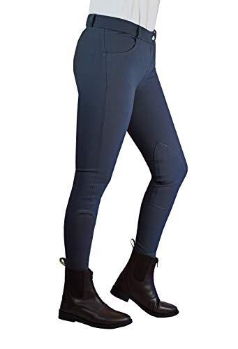 W-Horse Pantalon d'équitation Classique pour Femme en mélange Polyester et élasthanne avec...