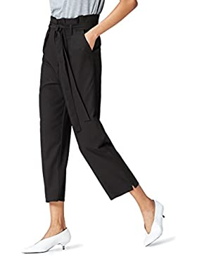 FIND Pantalones de Tiro Alto para Mujer