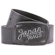 819a79ca1d6d Ceinture en cuir 1407 Black Japan Rags