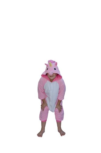 Fleece Pyjama Kigurumi - Einhorn (pink)