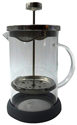 Cuisine Elegance Kaffeebereiter, French Press System, Kaffee- Teezubereiter 800 ml (Grau)