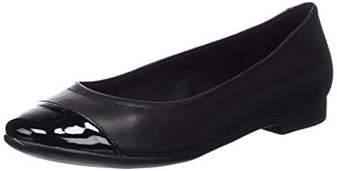 Clarks Atomic Haze, Women's Low-Top Sneakers, Black (black Combi Leather), 8 UK (42 EU)