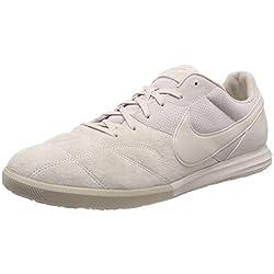 Nike The Premier II, Zapatillas de fútbol Sala Unisex Adulto, Multicolor Desert Sand/White 010, 40.5 EU