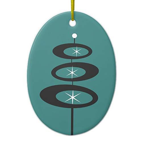 Tamengi DIY Custom Color Mid Century Moderne Keramik-Ornament -