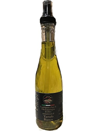 Olio extra vergine di oliva con tartufo bianco d'alba - 200 ml - intenso