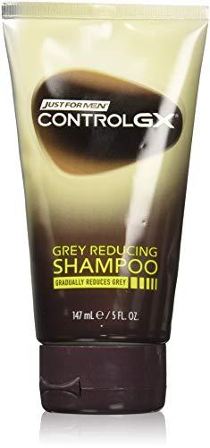 Just for men control gx shampoo da 141,7g riduzione del grigio 147 ml (3pezzi)