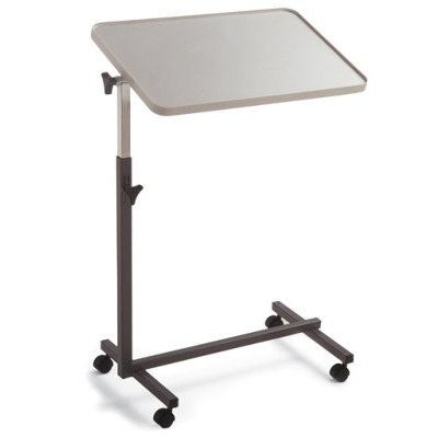 Bett-Tisch INVACARE L865 fahrbarer, höhenverstellbarer Bett-Tisch Beistelltisch