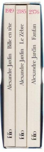 Jardin Alexandre Coffret 3 Volumes : Bille en tête, Le zèbre, Fanfan par Jardin